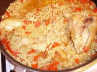 Aïch au poulet et au cumin : Etape 4