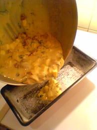Cake aux tomates séchées & mozzarella : Etape 5