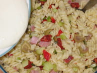 Pâtes en salade multicolore : Etape 5