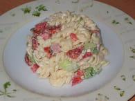 Pâtes en salade multicolore : Etape 6