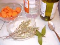 Maquereaux au vin blanc : Etape 2
