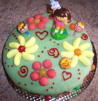 Gâteau Dora : Etape 2