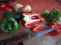 Gratin de légumes : Etape 1