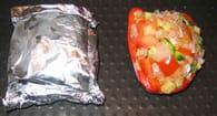 Poivrons farcis au poisson et légumes : Etape 4