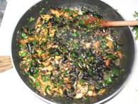 Tarte feuilletée aux champignons sauvages : Etape 3