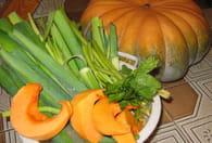 Soupe de légumes facile : Etape 1