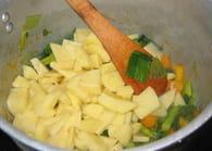 Soupe de légumes facile : Etape 3