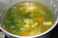 Soupe de légumes facile : Etape 4