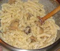 Gratin de pâtes au jambon et champignons de Paris : Etape 5