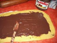 Brioche roulée au Nutella : Etape 3