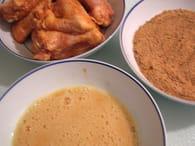 Ailerons de poulet frits maison : Etape 2