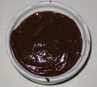 Fondant au chocolat, coeur de caramel coulant : Etape 5