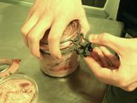 Foie gras en conserve : Etape 5