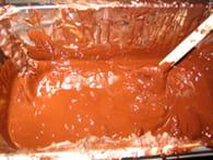 Sucettes en chocolat : Etape 1