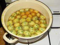 Pommes dauphine : Etape 5