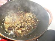 Poulet aux champignons : Etape 2