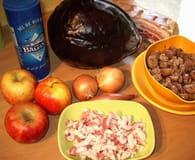 Chou rouge aux pommes et aux marrons : Etape 1