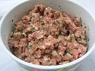 Poule au pot sauce suprême : Etape 1