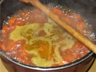 Velouté de carottes : Etape 3