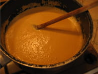 Velouté de carottes : Etape 4