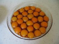 Gâteau à l'abricot : Etape 1