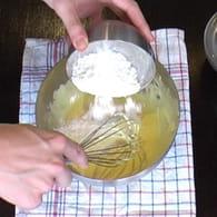 Crème pâtissière : Etape 3