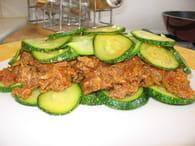 Gratin de viande hachée aux courgettes : Etape 4