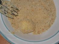 Oeufs de caille panés : Etape 3
