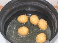 Oeufs de caille panés : Etape 4