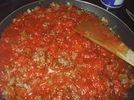 Riz à la tomate et viande hachée : Etape 5