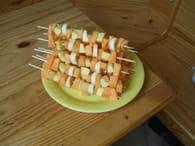 Brochettes de fruits d'été : Etape 2