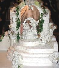 Les présentoirs d'apparat pour gâteaux : Etape 5