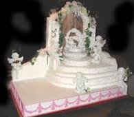 Les présentoirs d'apparat pour gâteaux : Etape 6