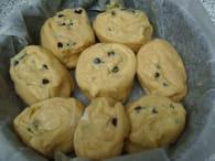 Chinois aux pépites de chocolat : Etape 6