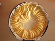 Tarte aux pommes, miel et amandes : Etape 1
