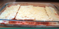 Lasagnes au poulet : Etape 3