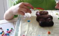 Gâteau ourson aux pépites de chocolat : Etape 6