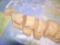 Oreillettes provençales : Etape 2