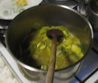 Soupe d'automne marrons potimarron : Etape 2