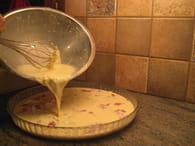 Quiche sans pâte à l'ancienne : Etape 3