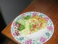 Quiche à la tomate, pomme de terre et muscade : Etape 6