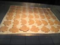 Petits gâteaux de Noël : Etape 6