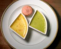 Duo de crèmes amande et pistache : Etape 5