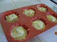 Muffins au Bounty : Etape 3