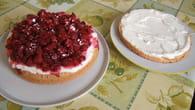 Gâteau aux framboises et au chocolat blanc : Etape 5