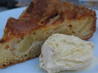 Gâteau crousti-fondant aux pommes : Etape 5