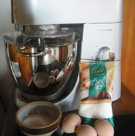Rochers à la noix de coco : Etape 1