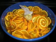 Confiture d'oranges amères : Etape 2