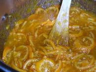 Confiture d'oranges amères : Etape 4