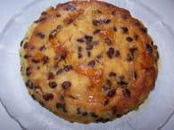 Gâteau de semoule aux raisins et caramel : Etape 2
